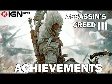 IGN News - Assassin's Creed III Achievements Leak костюм assassin