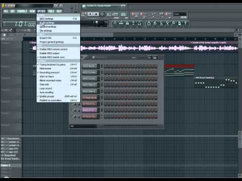 FL Studio 10 - How to remix a song. как создать ремикс fl studio 10 portable