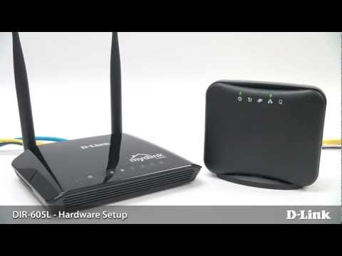 DIR-605L mydlink cloud Wireless N300 Router