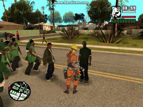 Скачать naruto mod для gta san andreas my-gta.
